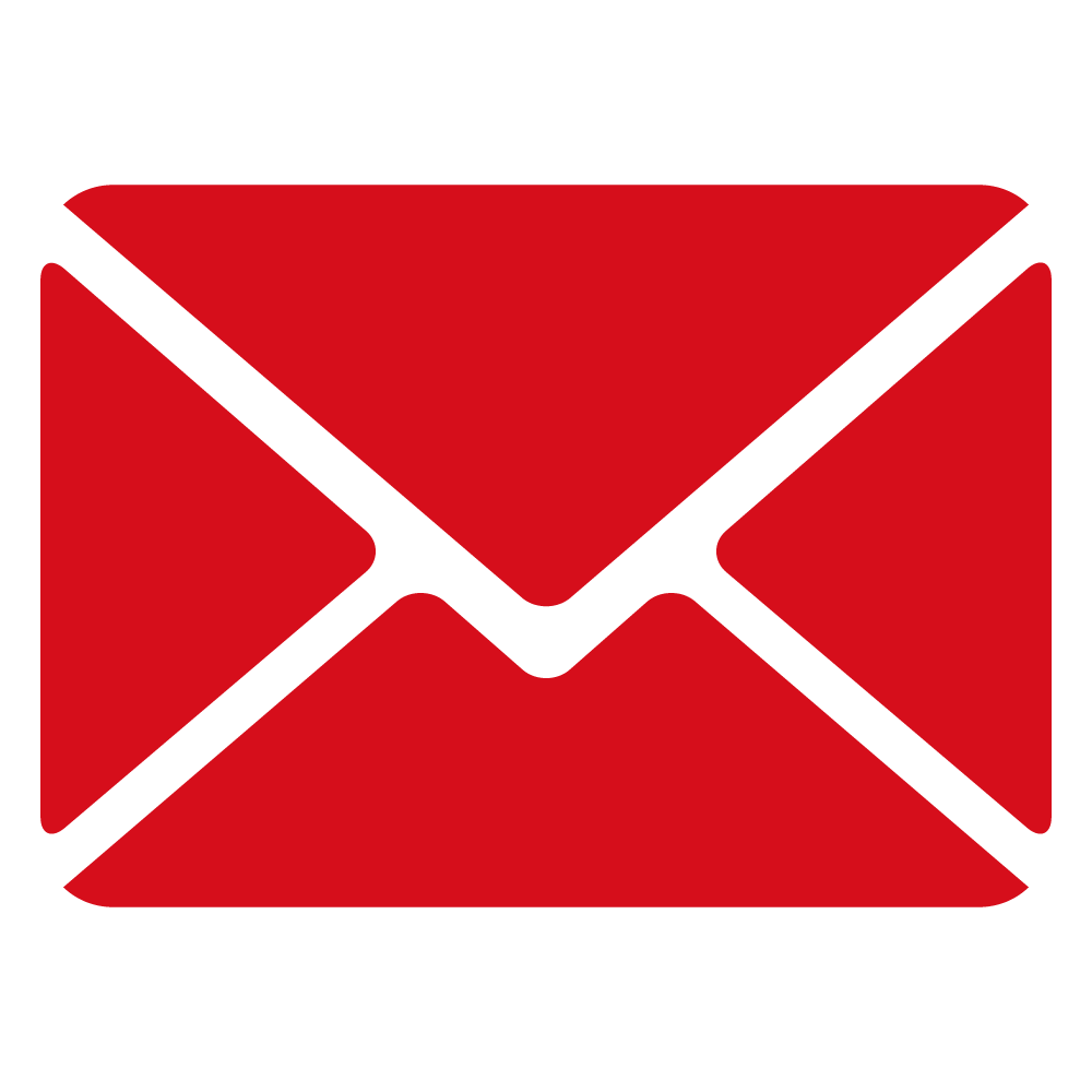 mail icon rood RGB